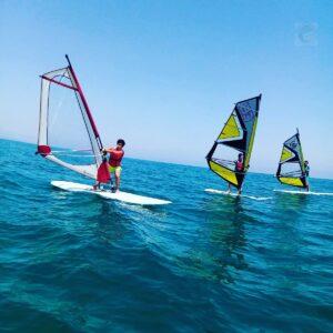 windsurf en garbi surf