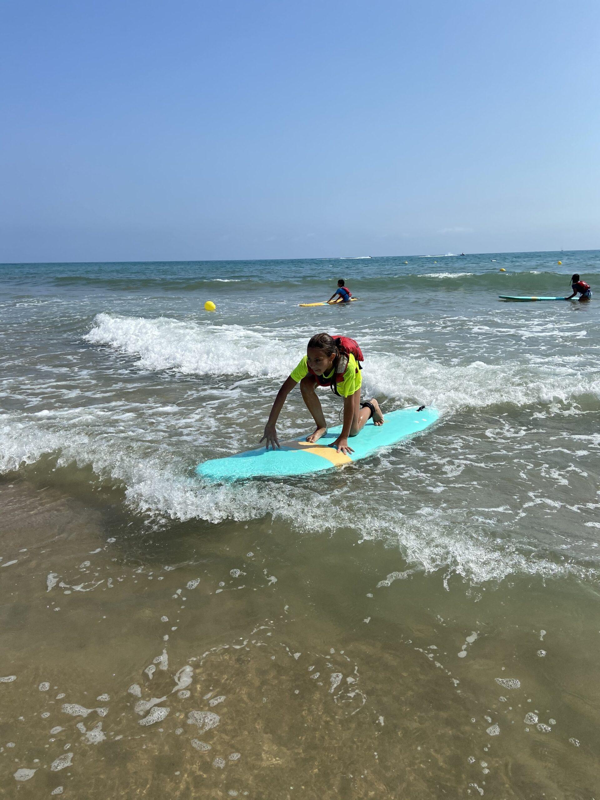 surfeando en garbisurf