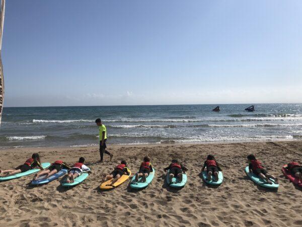 Iniciación al surf